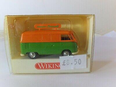 "Wiking HO VW T1 Transporter with advertising board on roof ""Frucht Limonade""BNIB comprar usado  Enviando para Brazil"