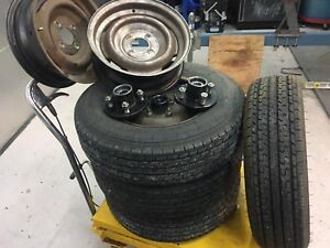 Hubs , Rims and Tires for sale