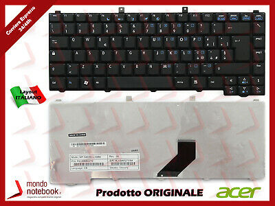 TASTIERA KEYBOARD NERA ITALIANA ORIGINALE ACER Aspire 5620 5630 5650 5680 9110