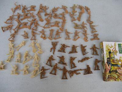 World War 2 Toy Soldier Battle Lot Japanese Marines British Infantry Pacific War