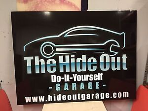 The HideOut 'Do-it-Yourself' Garage
