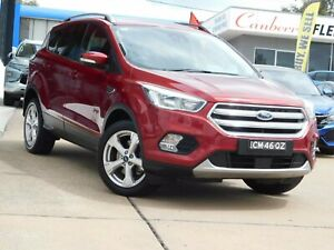 2017 Ford Escape ZG Trend (AWD) Red 6 Speed Automatic SUV Belconnen Belconnen Area Preview