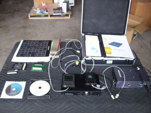 PV MEASUREMENTS INC Solar Simulator Spatial Uniformity Mapper Measurements