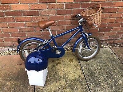 "Kids Bobbin Moon bug blueberry 16"" bike"