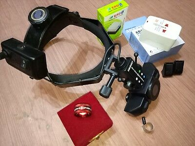 Indirect Binocular Led Ophthalmoscope With 20d Lens Aspheric Led Rechargeable