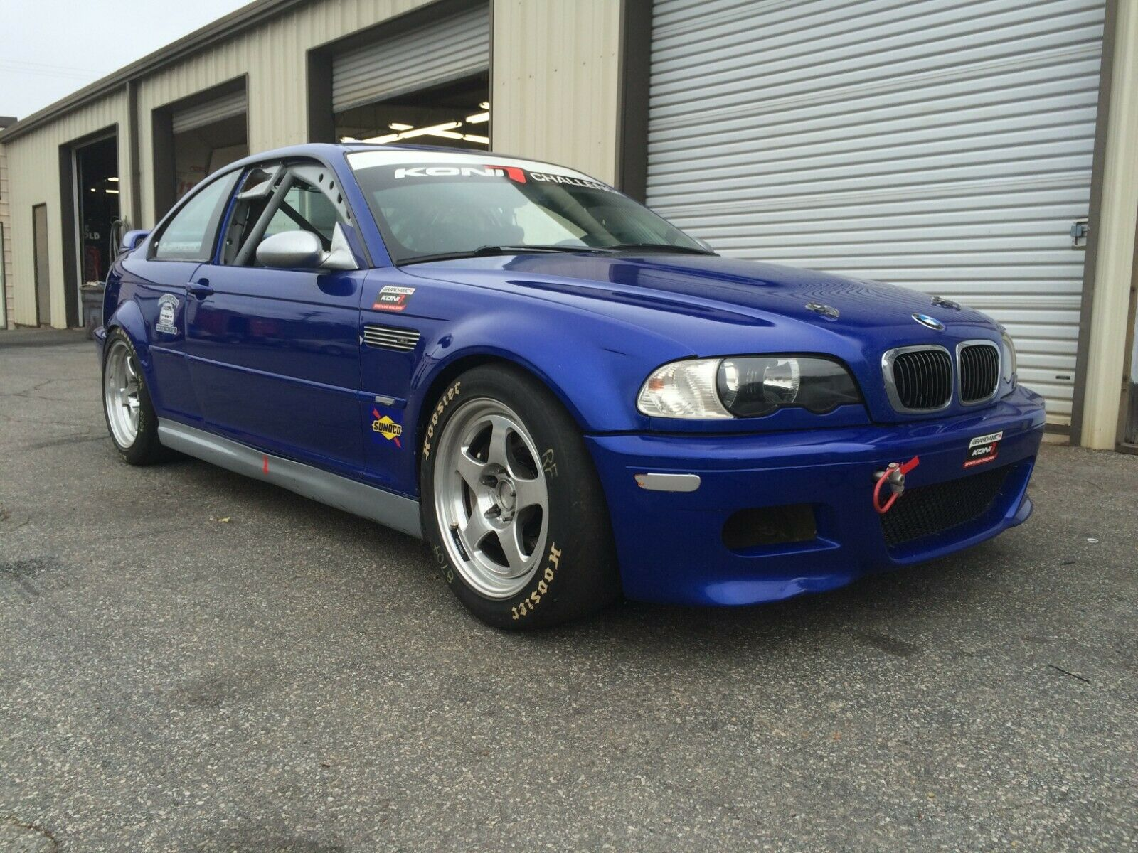 2003 BMW M3 S54 with BMW Factory Motorsport Chassis Race Car