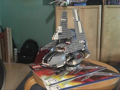 LEGO Star Wars 8096 Emperor Palpatine's Shuttle (COMPLETE w/ instructions)