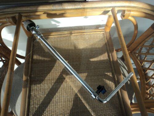 Vintage 60s Slingerland Bass Drum Cymbal L Arm-W/Tilter-Orig & Complete-WWSHIP!