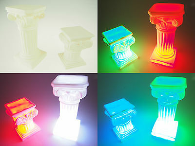 Plastic Greek Columns (Roman Greek Pillar Column Pedestal Wedding Centerpiece Candle Holder Cake)