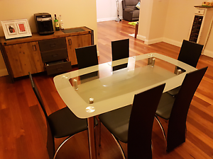 7 piece dinning table West Ryde Ryde Area Preview