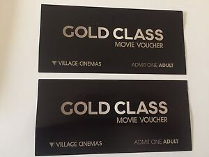 2x Gold Class cinema tickets Wagstaffe Gosford Area Preview