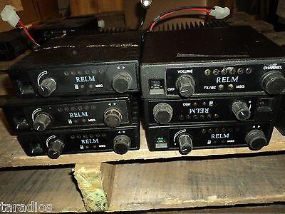 1 Used Relm Slu25 6 Channel - 25 Watt Uhf Mobile Transceiver Powers On