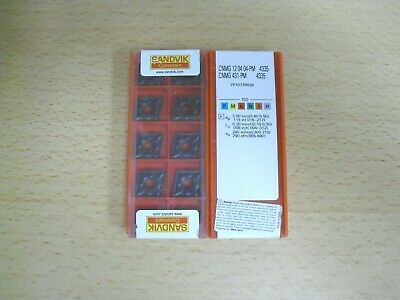 10pcs Authentic Sandvik Cnmg 431 Pm 4335 Insert