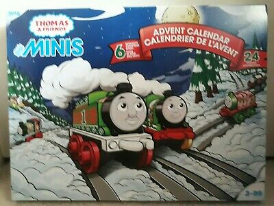 Thomas & Friends - MINIS 2018 Advent Calendar - 24 Engines Locomotives - NEW