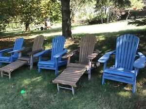 5 outdoor chairs