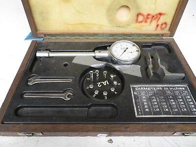 Alina Interapid Compac .8 - 2 Dial Bore Gage .0001 Division Mw36