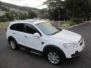Immaculate 2011 Captiva 7 LX (4x4)-Turbo Diesel-7 Seater Hobart CBD Hobart City Preview