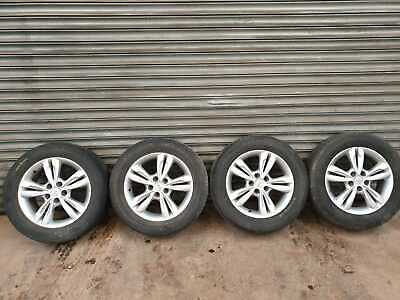 "HYUNDAI IX35 17 "" INCH ALLOY WHEELS AND TYRES FULL SET 225/60/R17"