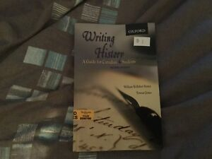 Writing History book