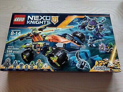NEW Lego Nexo Knights Aaron's Rock Climber 70355 - 598 Pc - NISB
