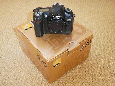 Nikon D70 DSLR Camera