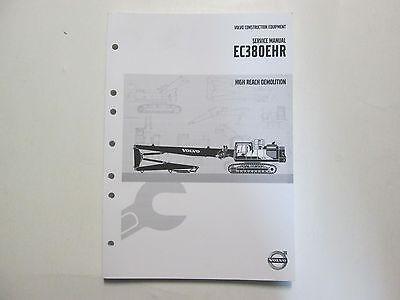 Volvo Construction Equipment Ec380ehr Service Manual High Reach Demolition Volvo