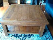 Rustic solid timber coffee table Hawthorn Boroondara Area Preview