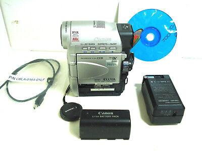 CANON ELURA miniDV Camcorder with Progressive Scan CCD [NTSC] Progressive-scan-ccd