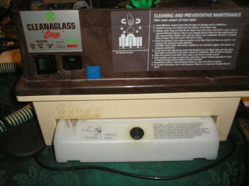 Cleanaglass One Behind the Bar Glass Washer NEW