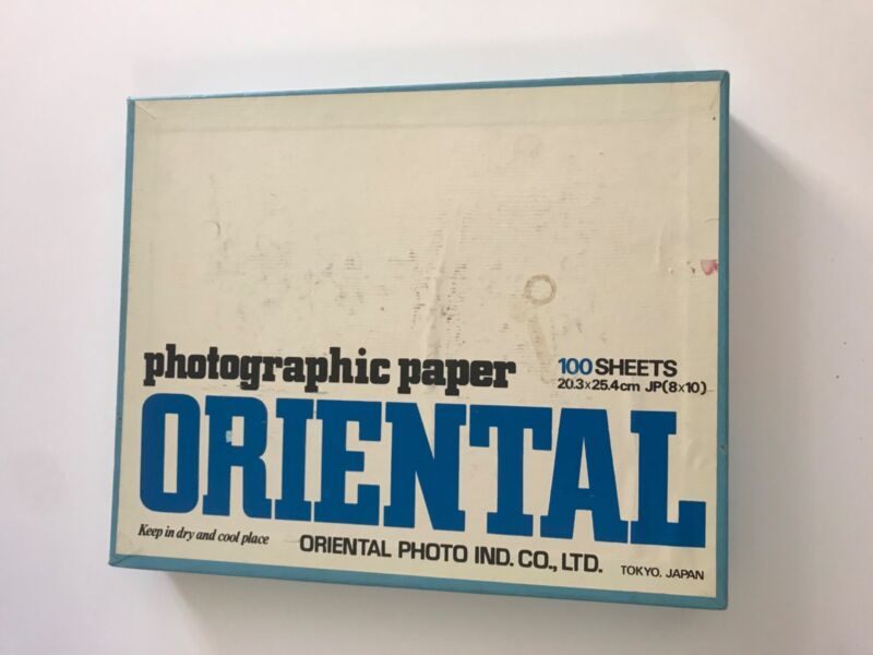 Oriental Photo Co. Seagull G-3 8x10 Bromide Photographic Paper