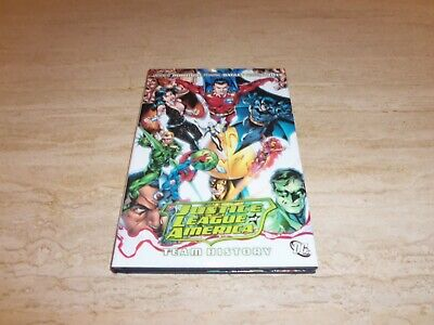 DC Comics Hardback Graphic Novel - Justice League of America Team History