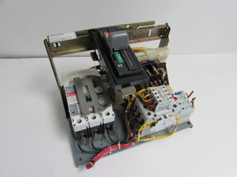 EATON/CUTLER-HAMMER 6AF1410836 MCC BUCKET 2FE 480V HMCP 150A 7.5HP 3PH *XLNT*