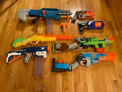Nerf Gun Lot, Zombie Strike, N Strike Elite, Retaliator, Sledgefire, Strongarm