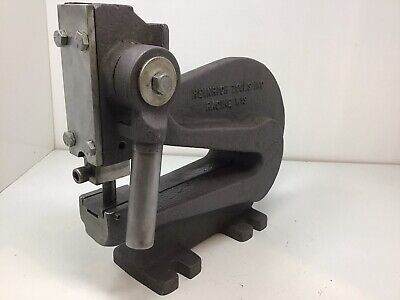 Heinrich Heavy Duty C-frame Bench Top Punch Press Model 6 Made In Usa