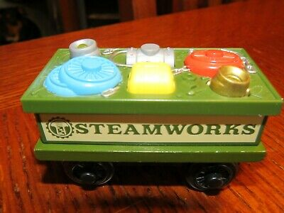 Thomas & Friends Wooden Railway Steamworks SPARE PARTS CAR Wood Train Engine