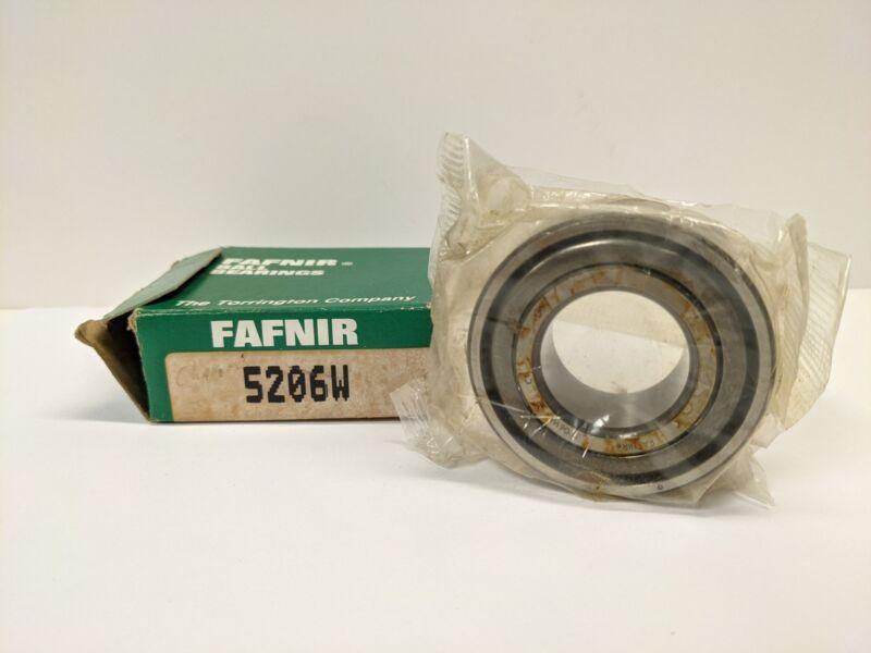 FAFNIR 5206W Angular Contact Bearing 30x62x0.9375mm-NOS