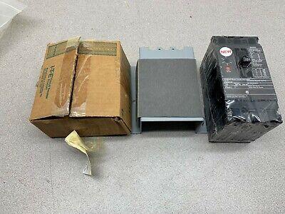 New No Box Siemens 100amp 3 Pole Breaker Ed63a100 With Operator Handle E2rh-1