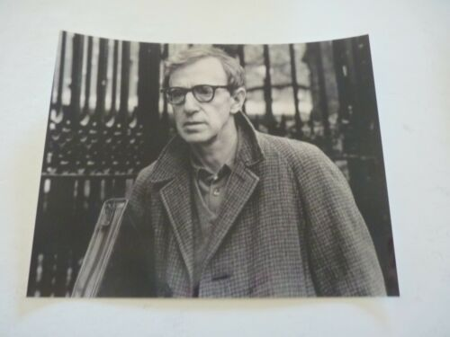 Woody Allen Director Actor 8x10 B&W Promo Photo #2