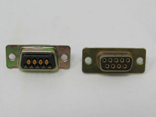 D-Sub Connector, Lot of 2  #1005419