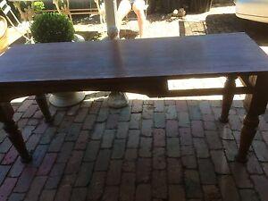 Antique Cedar Table Preston Darebin Area Preview