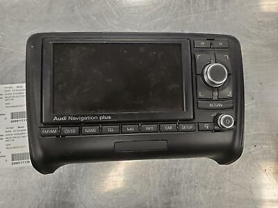 AUDI TT A/V Equipment receiver, w/navigation, ID 8J0035192B 2008-09