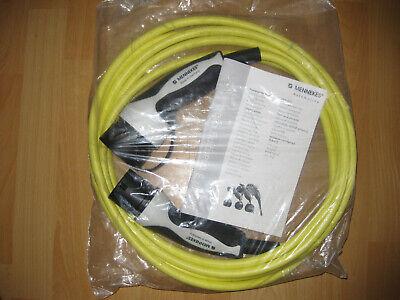 Mennekes Ladekabel Elektroauto Typ2 auf Typ2 Mode3 20A 5 Meter neu