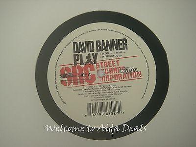 """David Banner ,westside , Play LP (VG) 12"""""""
