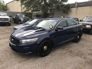 2013 FORD TAURUS SE POLICE INTERCEPTOR $6850 AS IS,  WOW A 2013