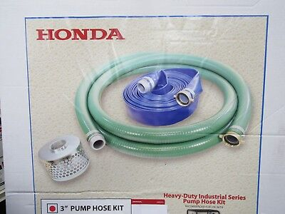 124030-1145-pinkt Honda 3 Pump Hose Kit Fits Water And Trash Pumps