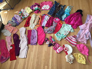 Girl Clothing Lot - 12 months - 46 items*