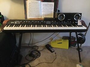 Korg SV-1 - black/ korg stand sv-1 stand Newport Pittwater Area Preview