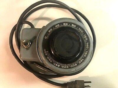 Powerstat Variable Autotransformer 3pn216c 5060 1 Ph Output 0-280