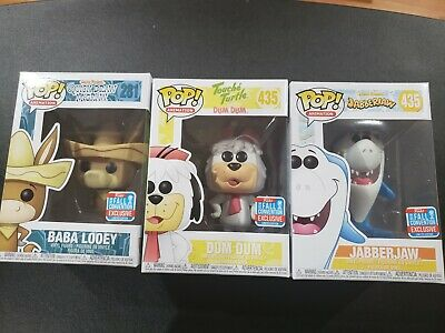 Funko Pop! Jabberjaw Dum Dum Baba Looey Set Hanna-Barbera NYCC 2018 Shared for sale  Shipping to Canada