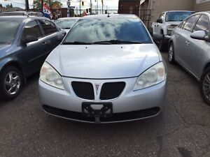 2009 PONTIAC G6, AS IS , OPEN SATURDAY !